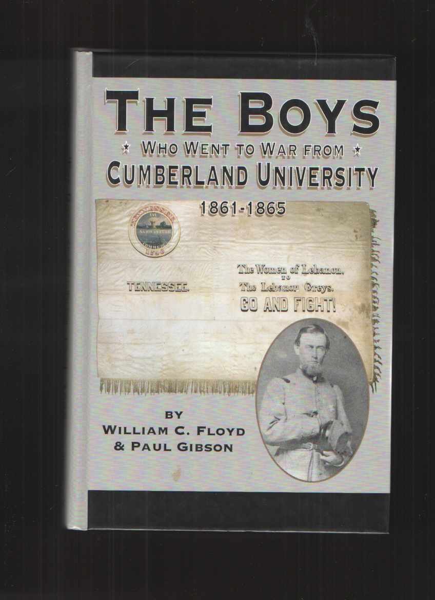 Image for The Boys Who Went to War from Cumberland University  1861-1865