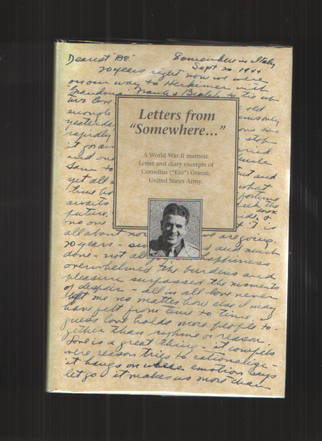 "Image for Letters from ""somewhere...""  A memoir from World War II"
