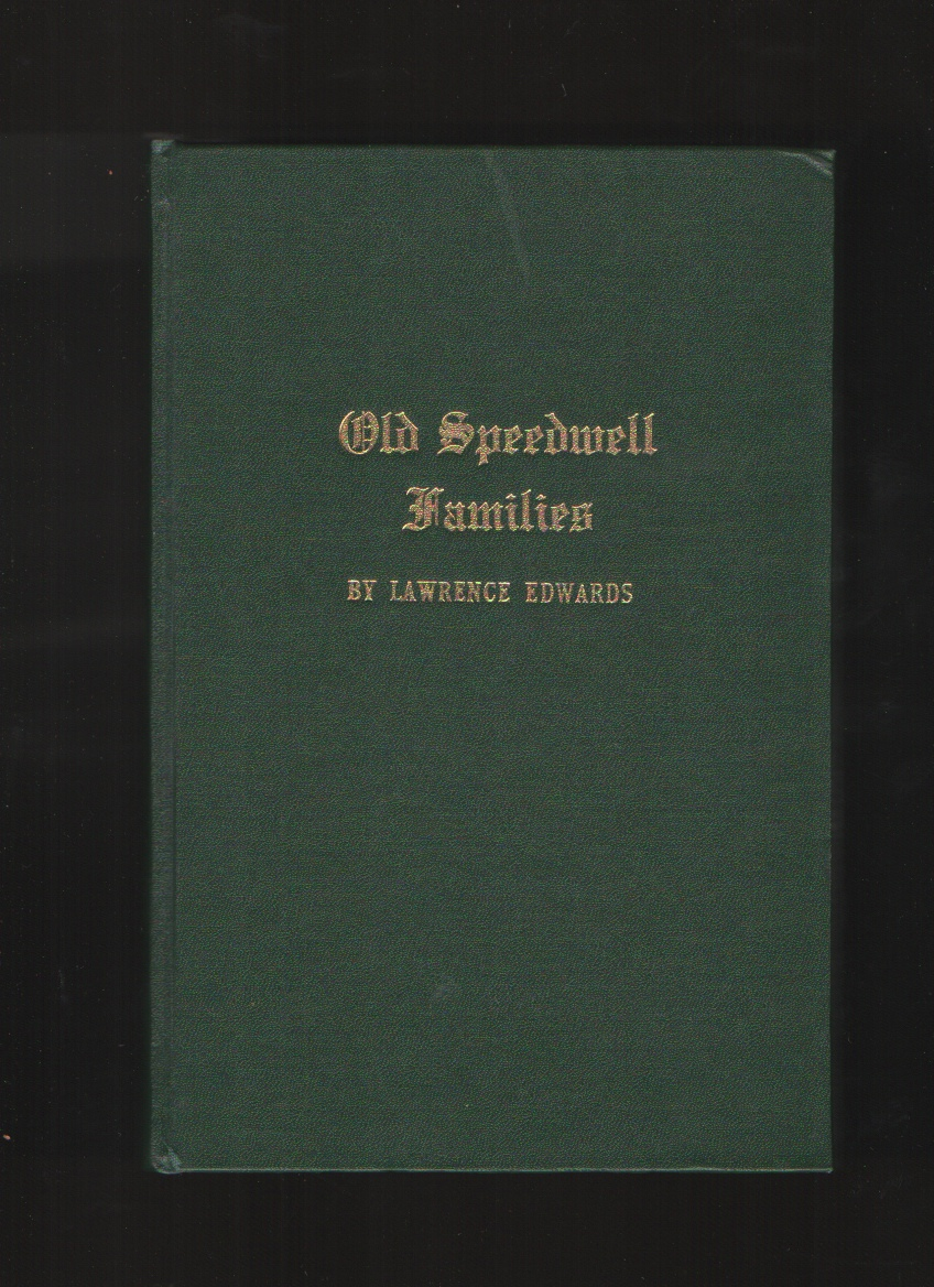 Image for Old Speedwell Families