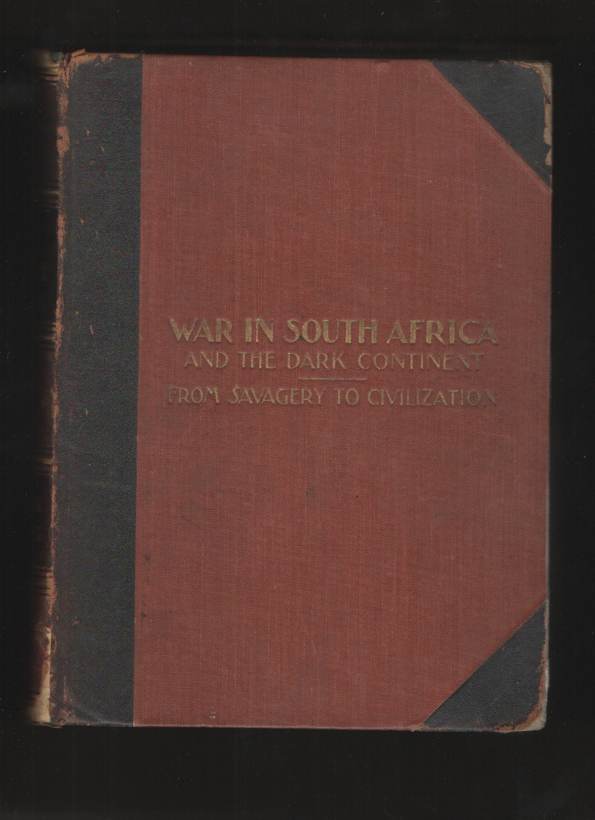 Image for War in South Africa and the Dark Continent... War with the Boers