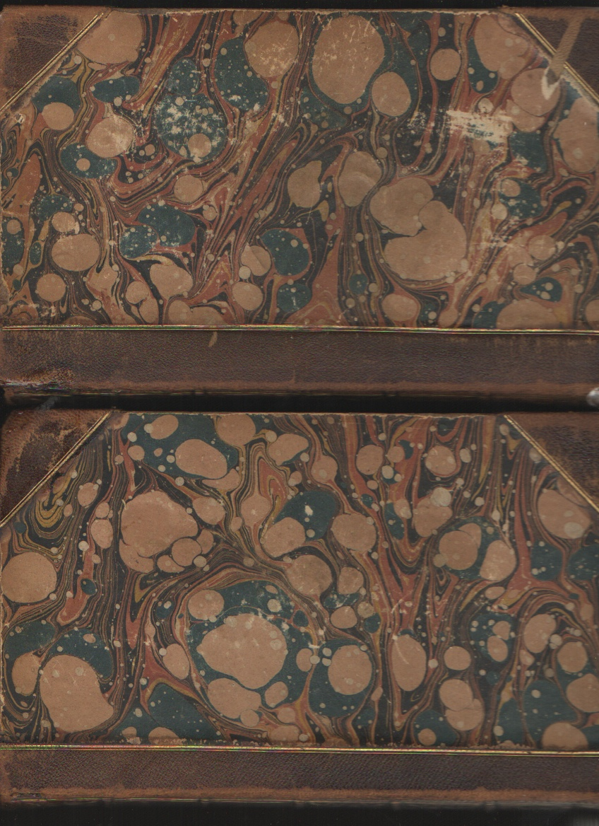 Image for The Life and Adventures of Robinson Crusoe, 2 Vols, Leatherbound
