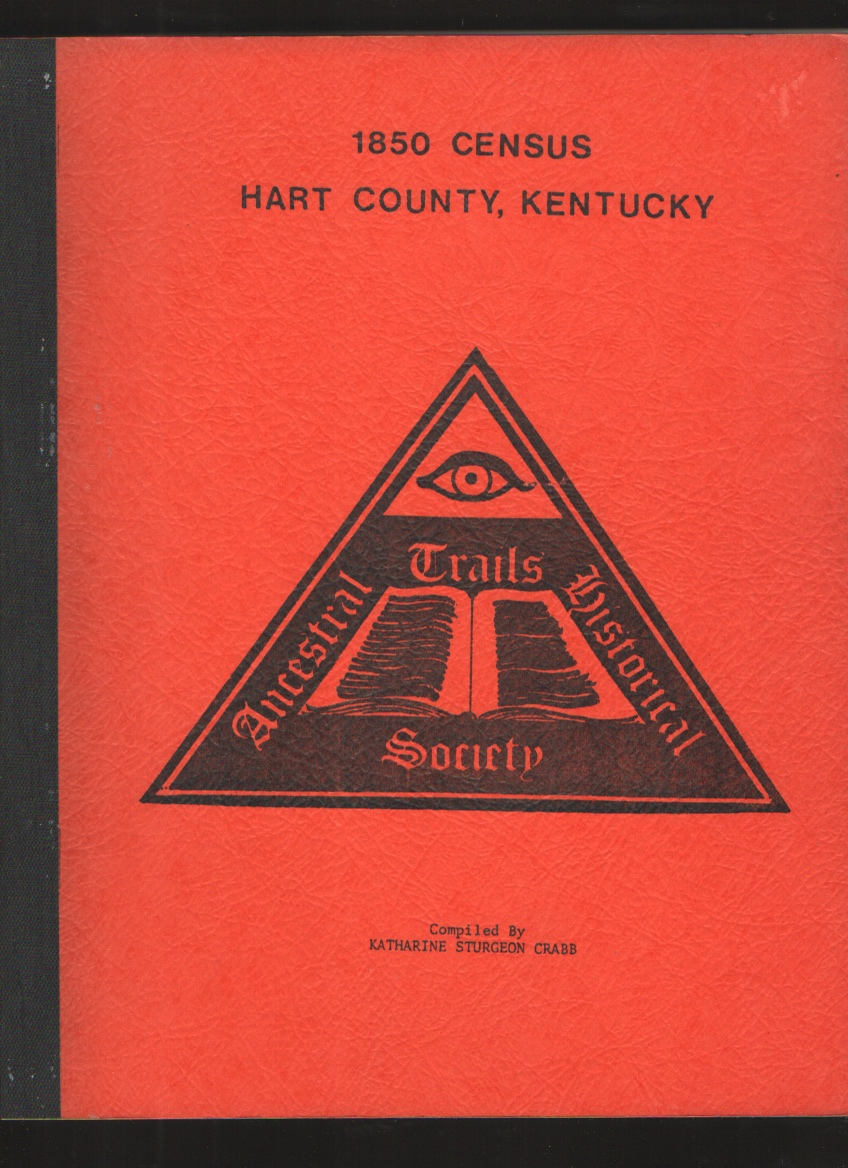 Image for 1850 census of Hart County, Kentucky