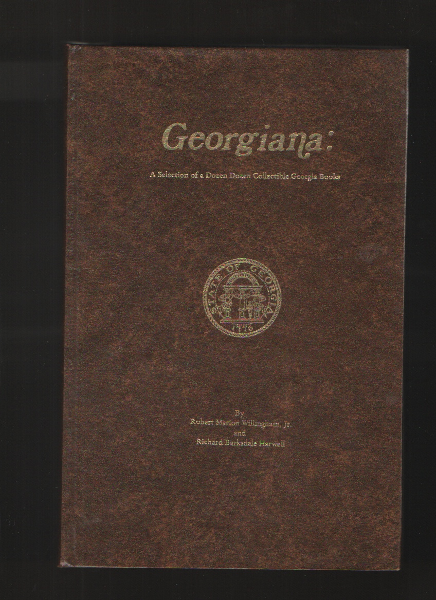 Image for GEORGIANA   A Selection of a Dozen Dozen Collectible Georgia Books.