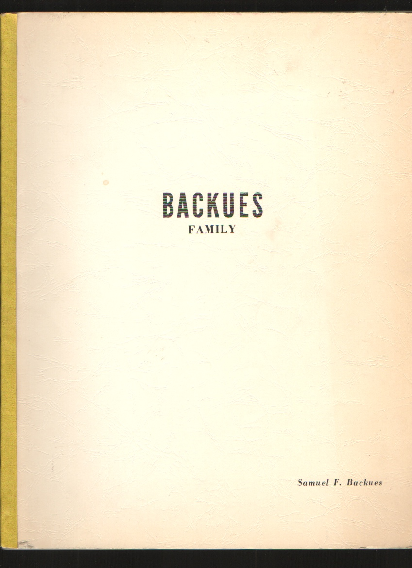 Image for Backues Family