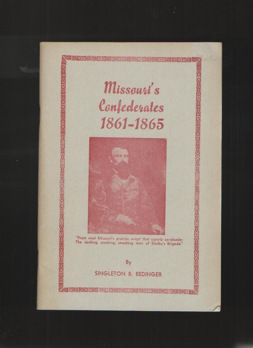 Image for Missouri's Confederates, 1861-1865,