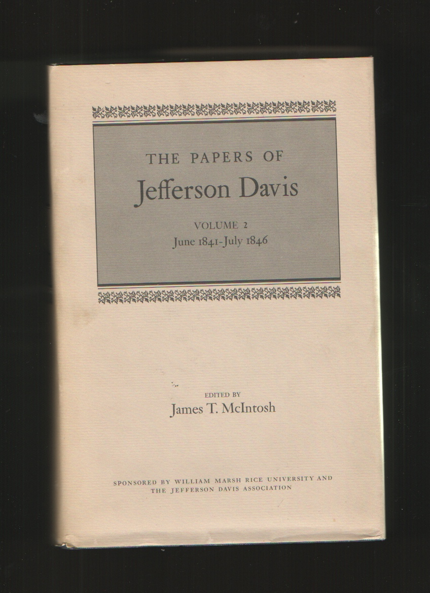 Image for The Papers of Jefferson Davis, Vol. 2, June 1841- July 1846