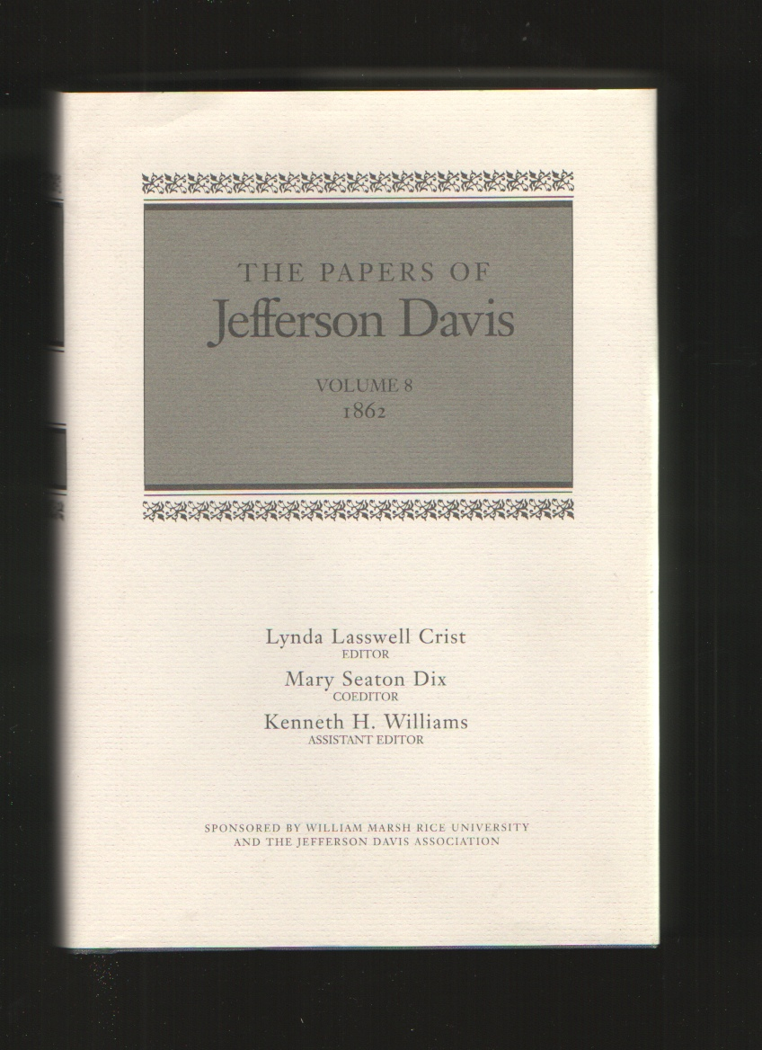 Image for The Papers of Jefferson Davis, Vol. 8  1862