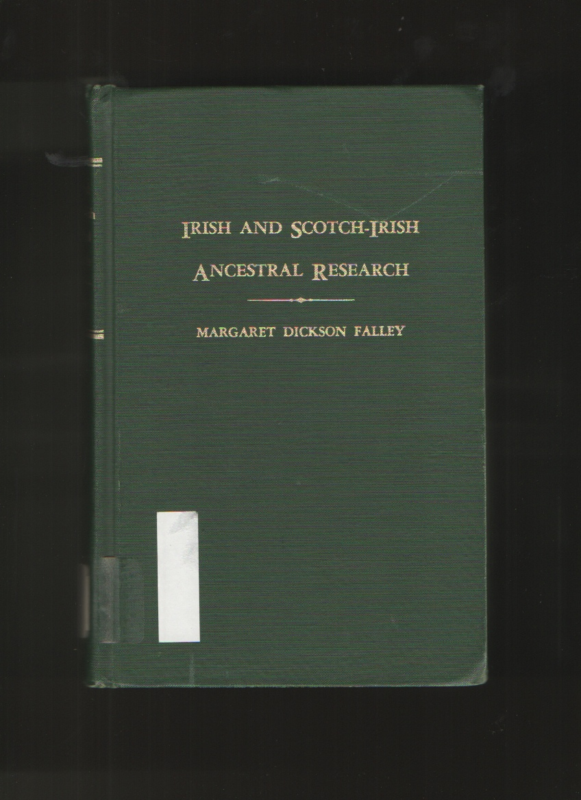 Image for Irish and Scotch-Irish Ancestral Research, Vol. II
