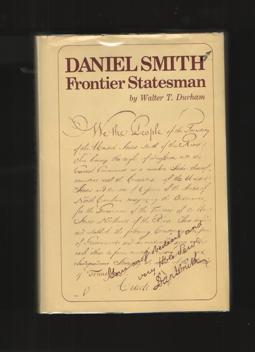 Image for Daniel Smith  Frontier statesman