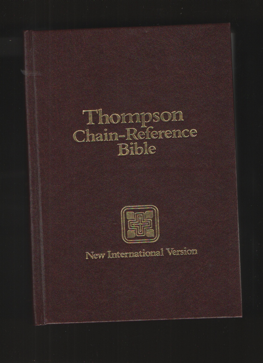 Image for Holy Bible/King James Version/Thompson Chain Reference/Burgundy/Stock No 80840