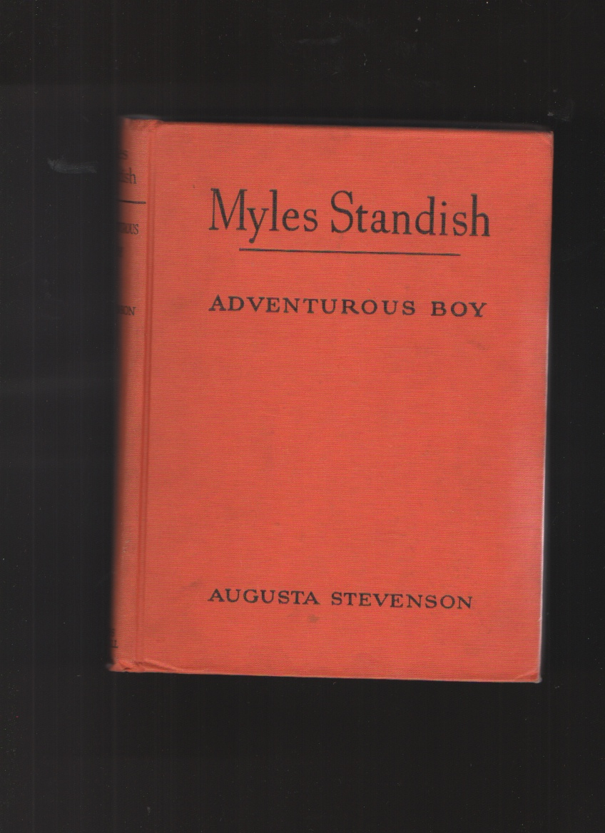 Image for Myles Standish Adventerous Boy