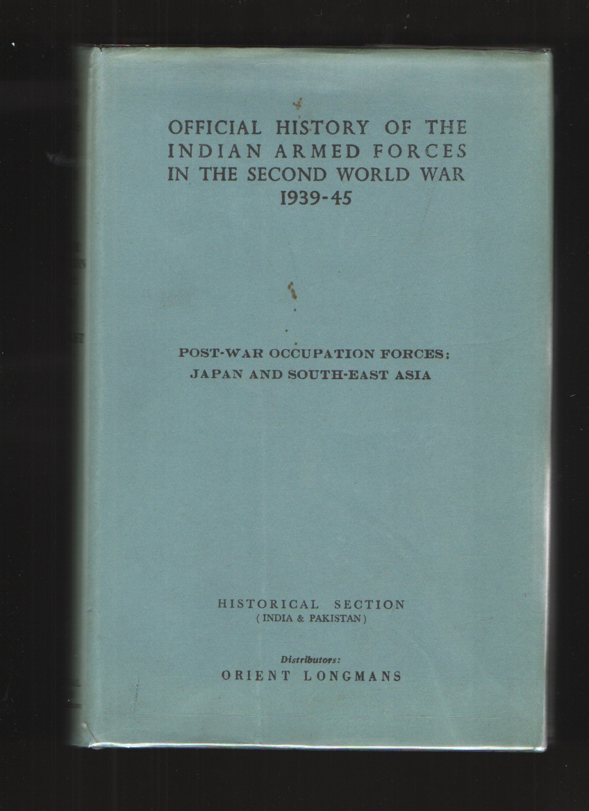 Image for Post-War Occupation Forces  Japan And South-East Asia