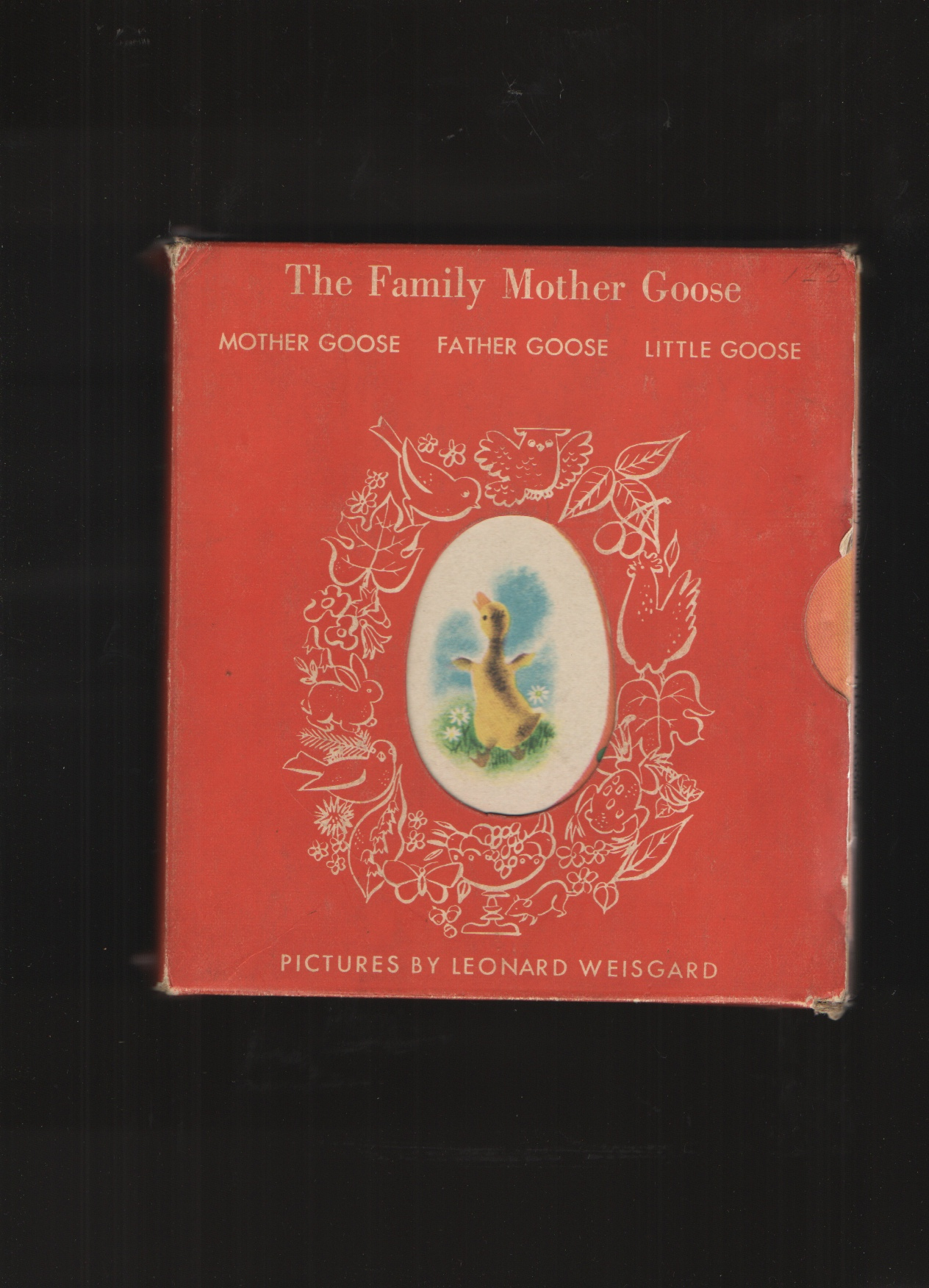 Image for The Family Mother Goose in Slipcase Little Goose, Father Goose and Mother Goose