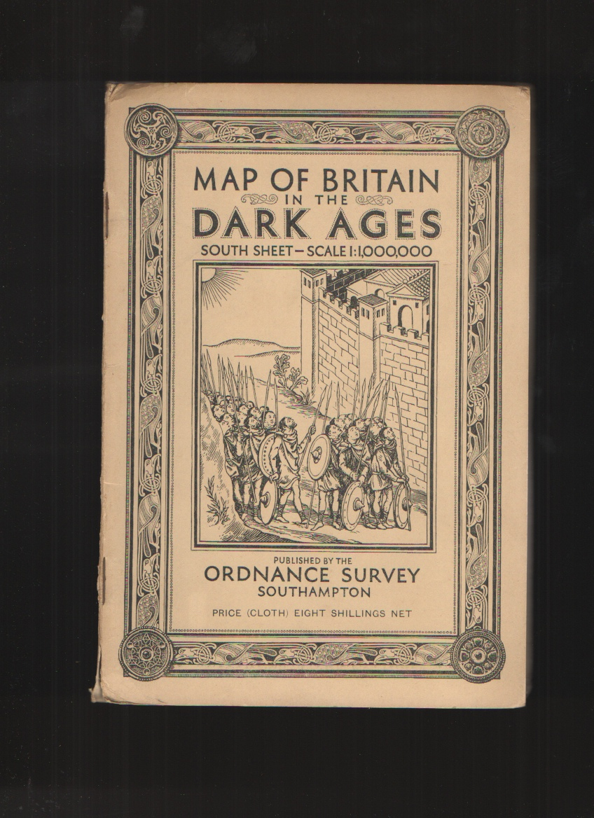 Image for Map of Britain in the Dark Ages, South Sheet - scale 1 1.000.000
