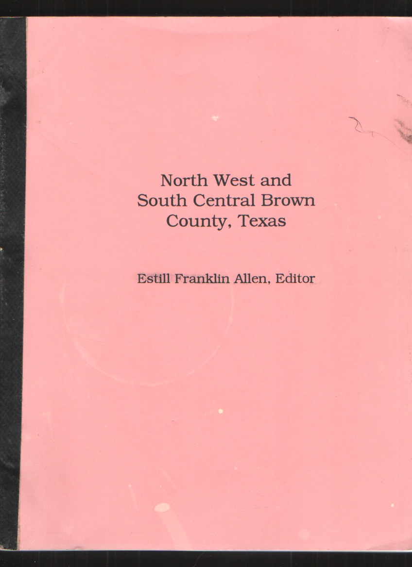 Image for North West and South Central Brown County, Texas