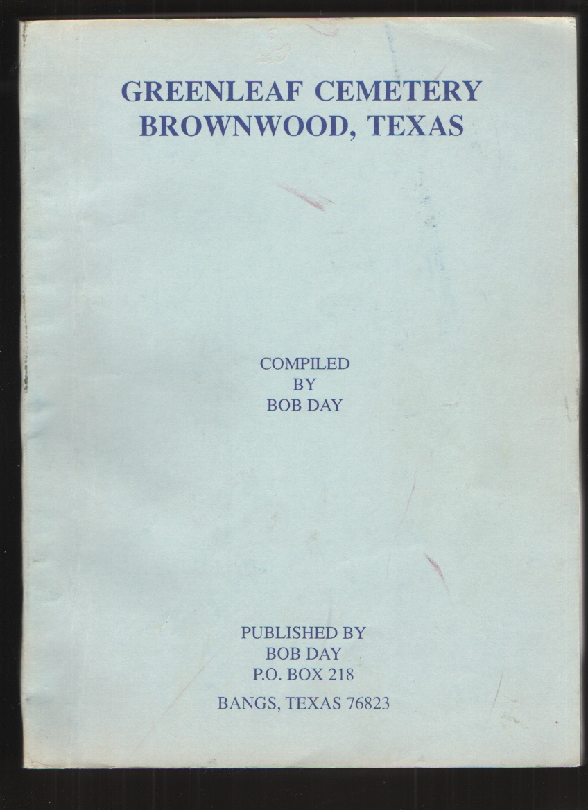 Image for Greenleaf cemetery, Brownwood, Texas