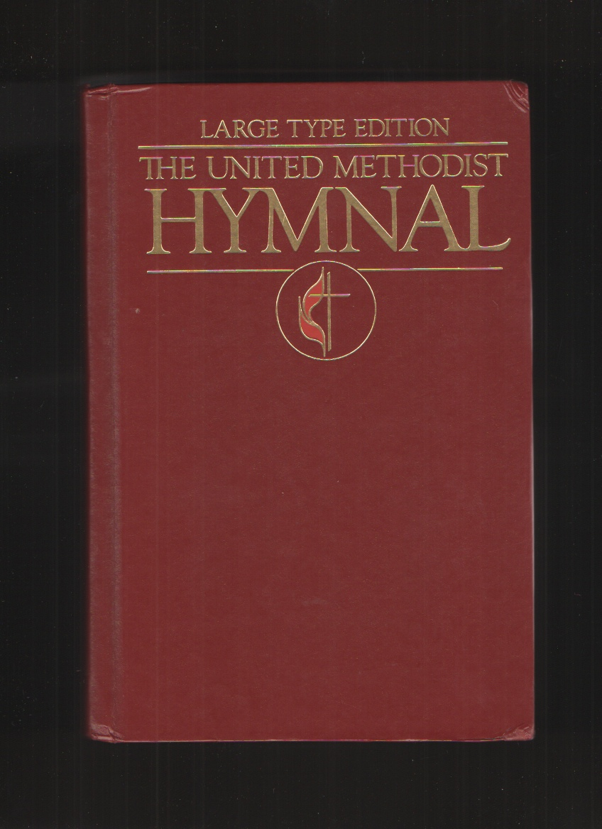 Image for Hymnal United Methodist Large Type Dark Red