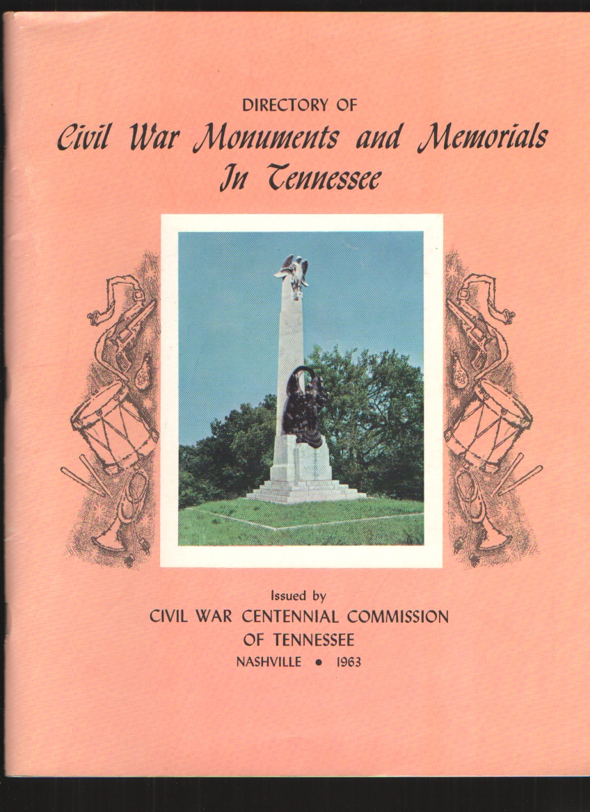 Image for Directory of Civil War Monuments and Memorials in Tennessee