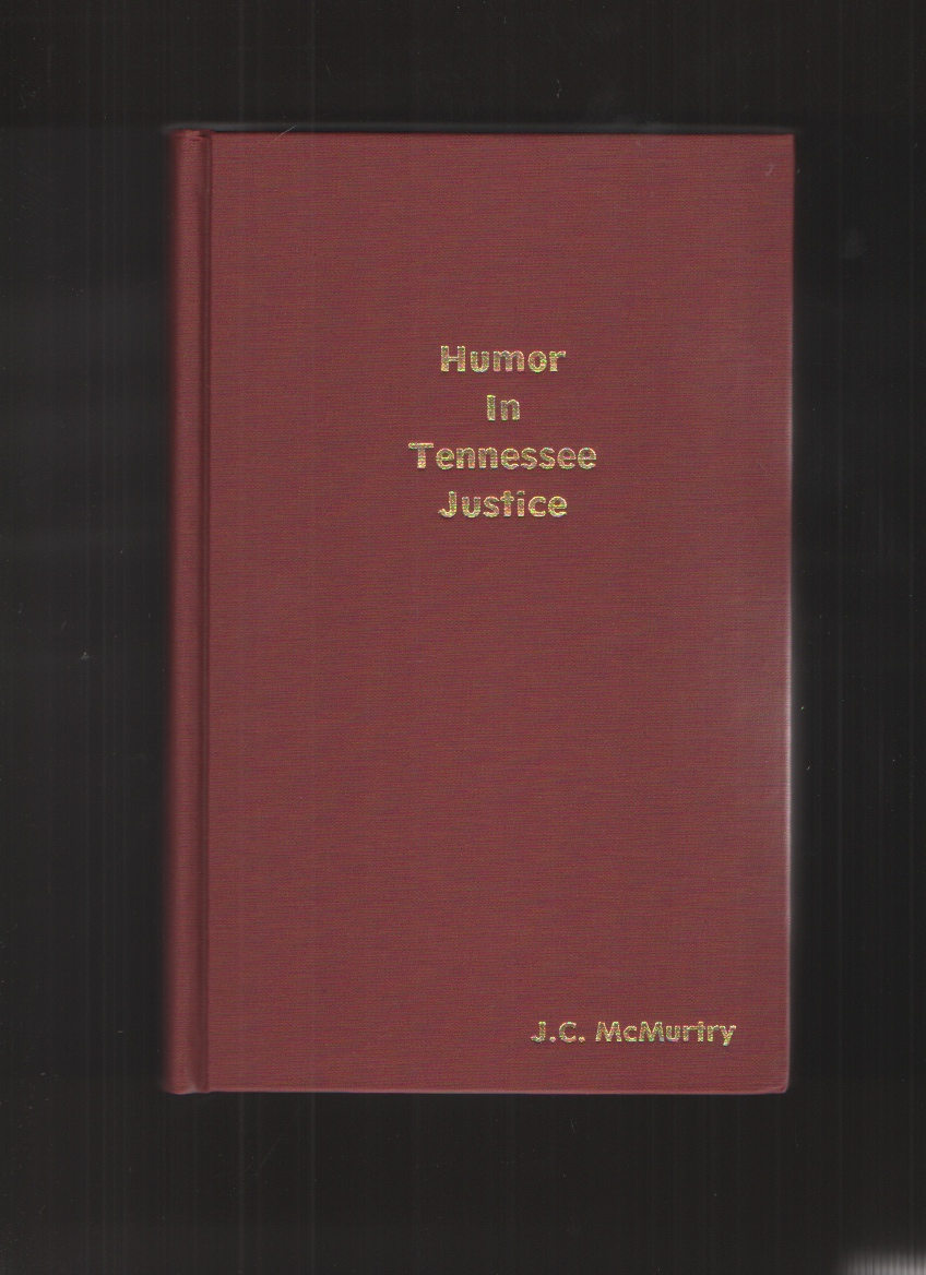 Image for Humor in Tennessee justice