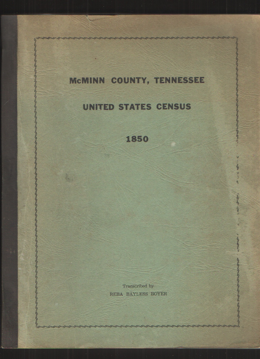 Image for Mcminn County, Tennessee United States Census 1850