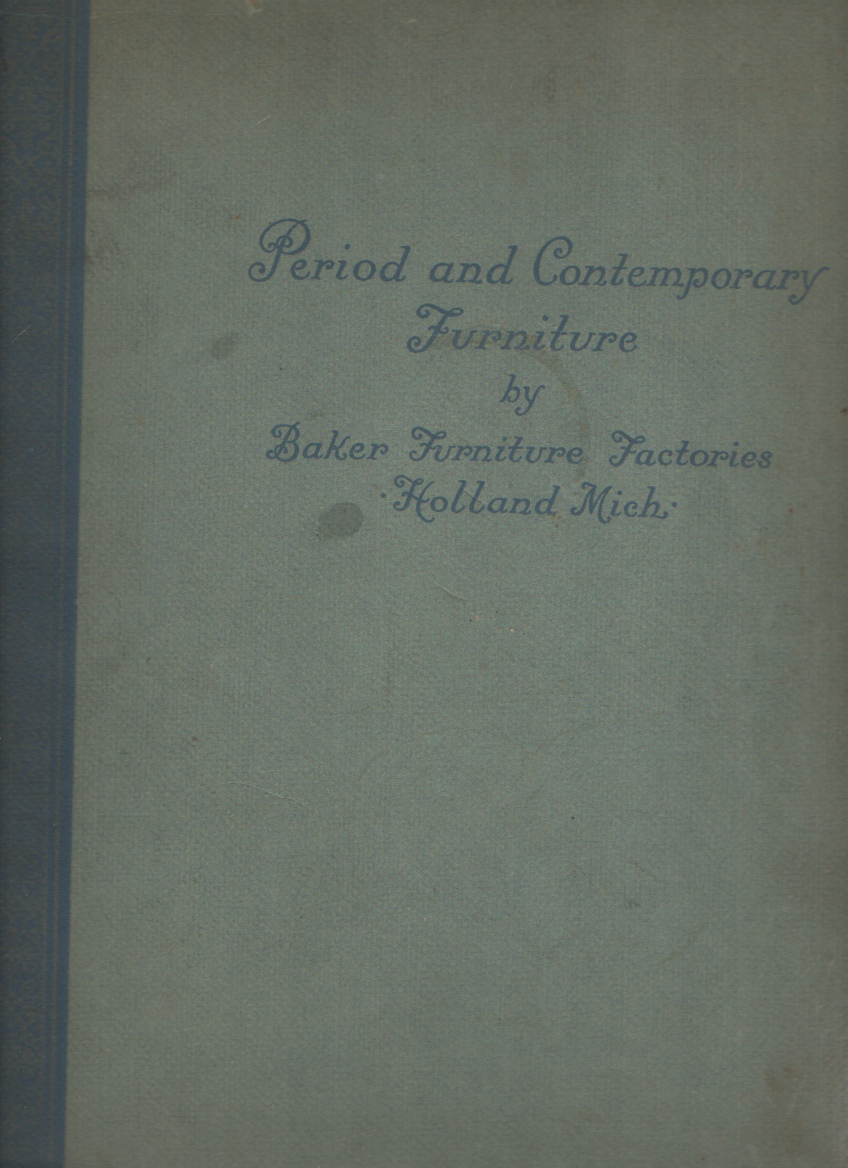 Image for Period and Contemporary Furniture - Softcover
