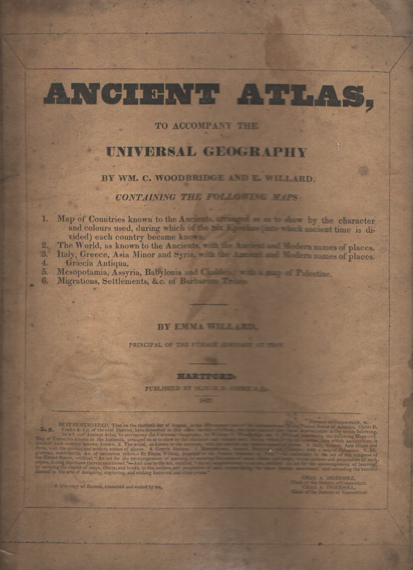 Image for Ancient Atlas to Accompany the Universal Geography
