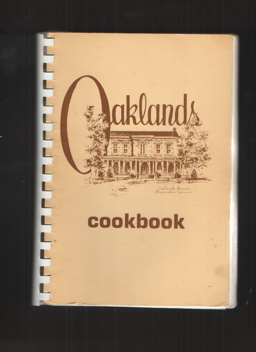 Image for Oaklands Cookbook