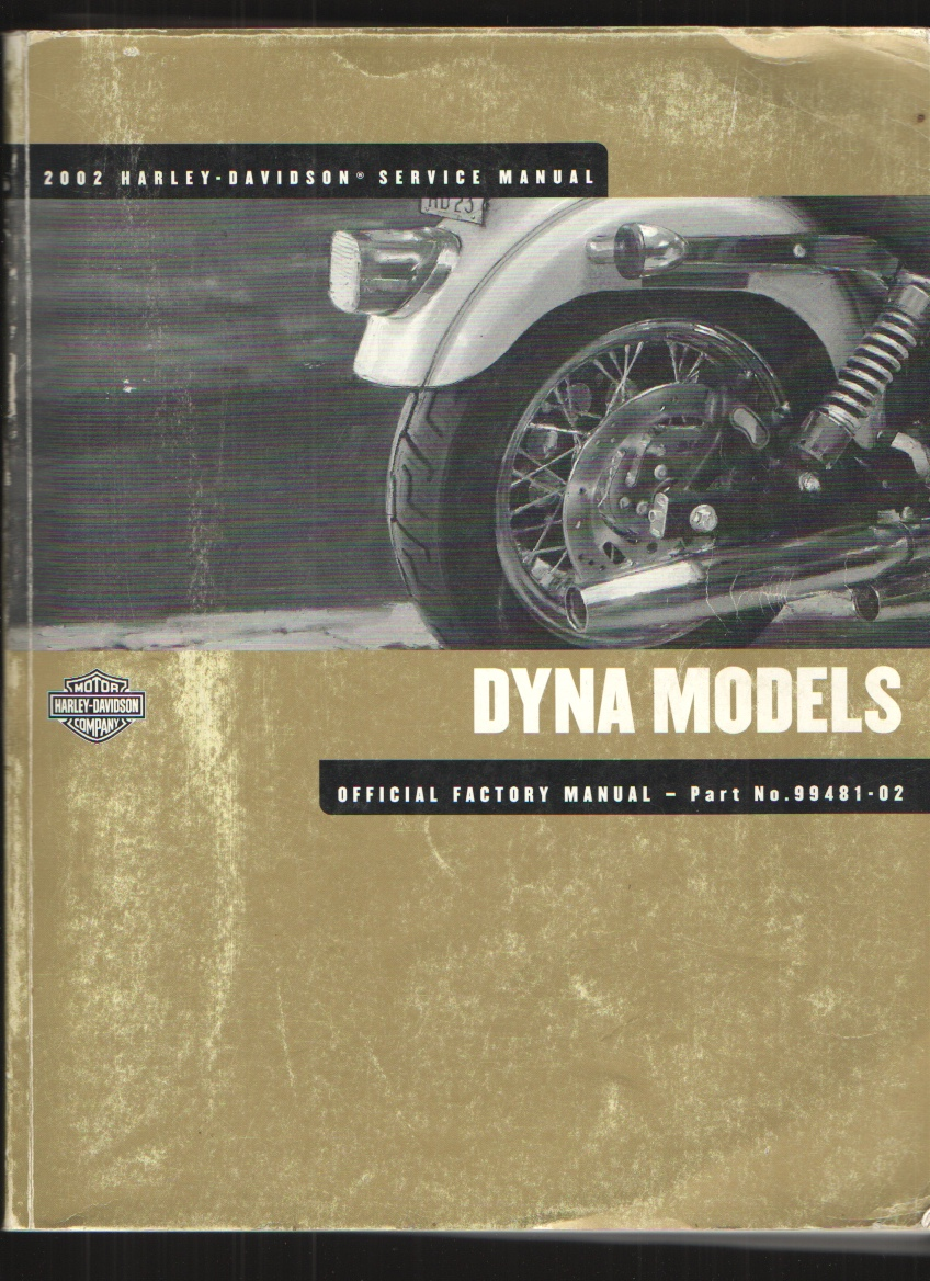 Image for Dyna Glide Models 2002 Harley Davidson Service Manual
