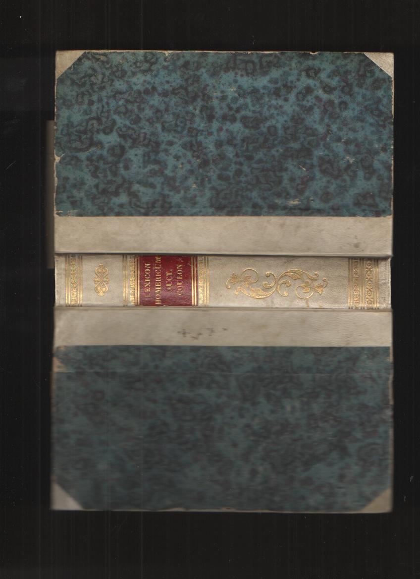 Image for Lexicon Homericum Seu Accurata Vocabulorum Omnium Quae in Homero Continentur, Explanatio