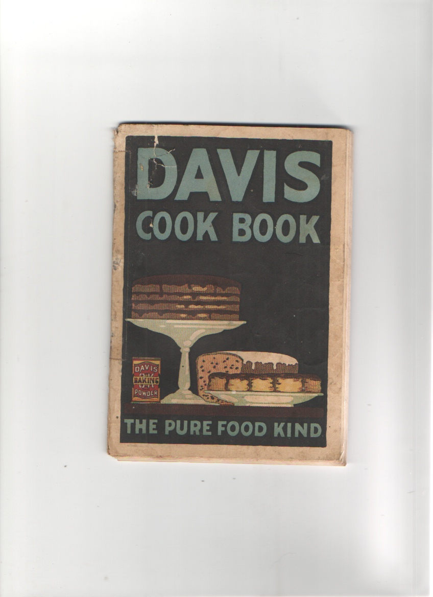 Image for Davis Cook Book The Pure Food Kind