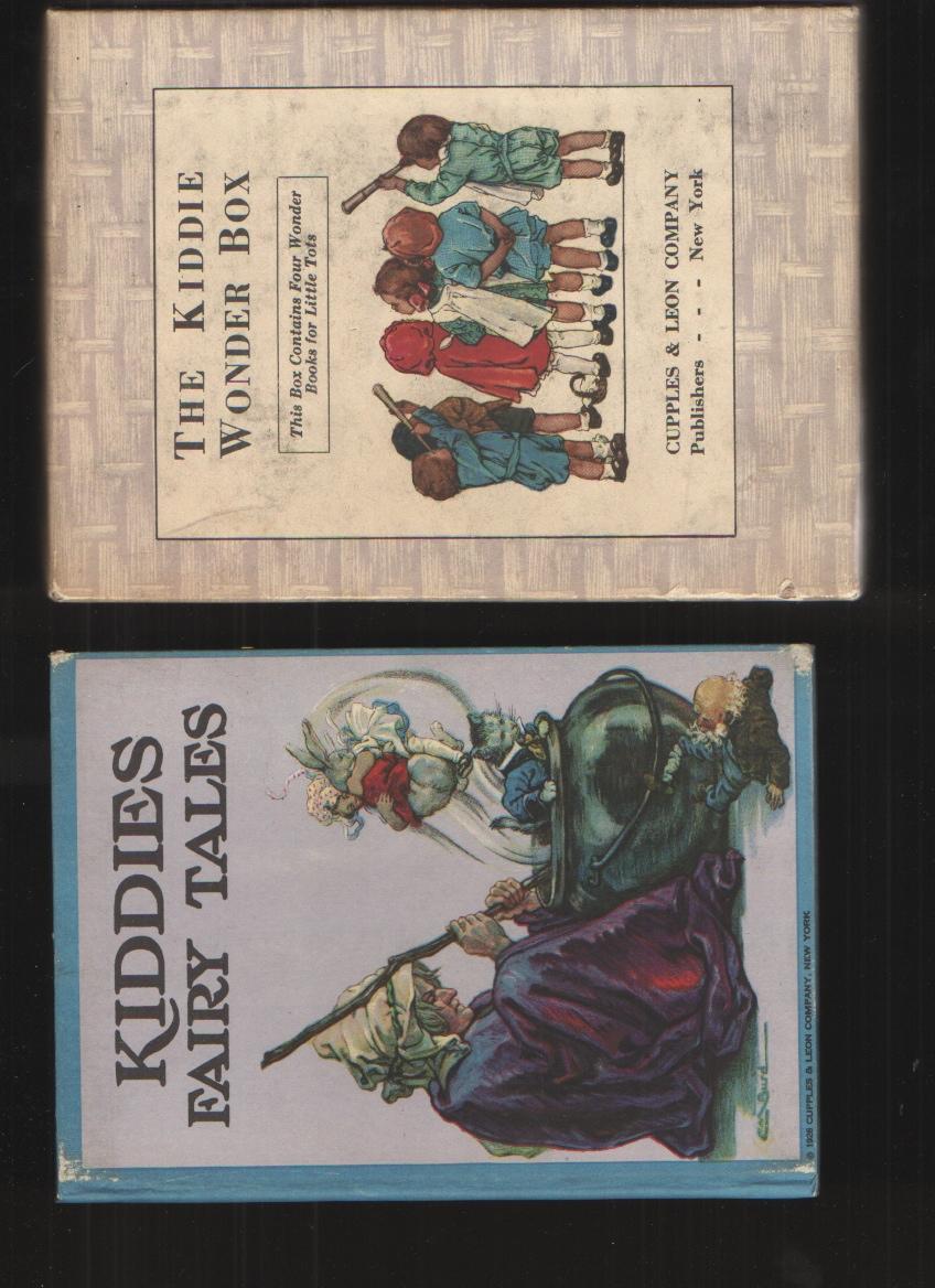 Image for Kiddie Wonder Box - Four Wonder Books Fairy Tales / Mother Goose / Nursey Rhymes / Holland Kiddies
