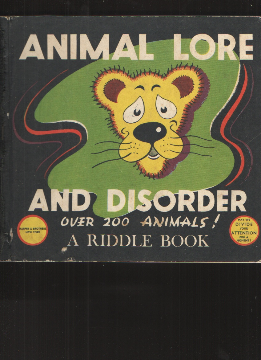 Image for Animal Lore and Disorder
