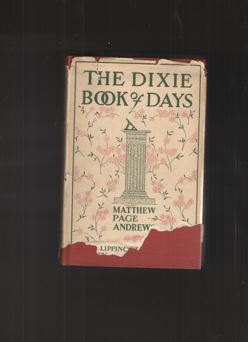 Image for The Dixie Book of Days