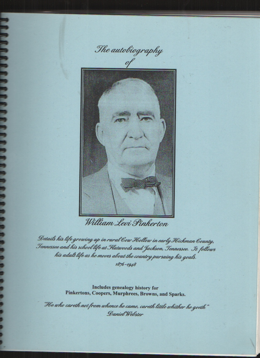 Image for The Autobiography of William Levi Pinkerton