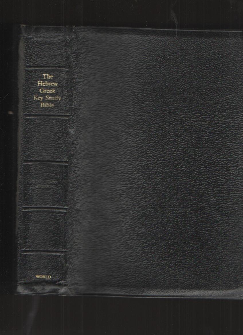 Image for The Hebrew-Greek Key Study Bible King James Version/Black Red Letter