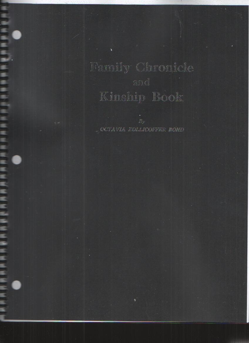 Image for Family Chronicle and Kinship Book