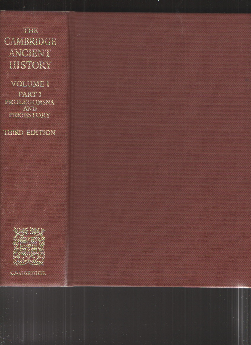 Image for The Cambridge Ancient History, Third Edition 12 Volumes in 14 Books with an Additional 5 Volumes of Plates