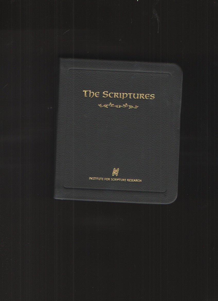 Image for The Scriptures - Leather Bound