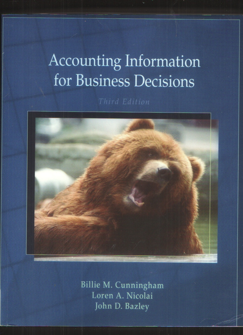 Image for Accounting Information for Business Decisions, 3Rd Edition