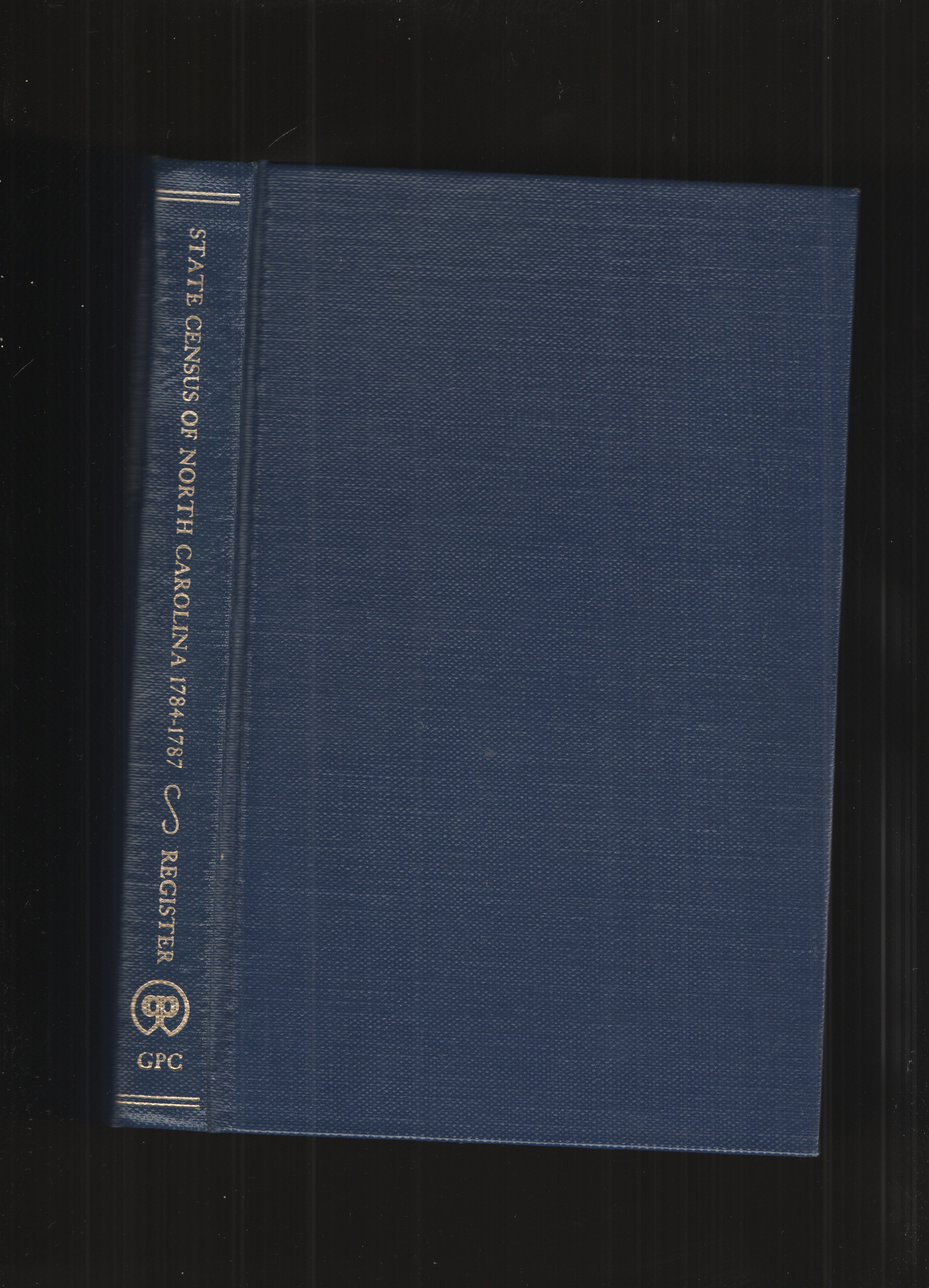Image for State Census of North Carolina, 1784-1787
