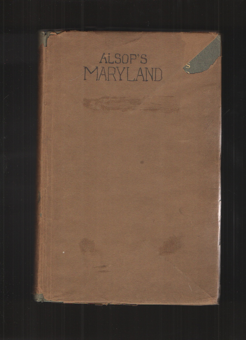 Image for A Character of the Province of Maryland - Hardcover