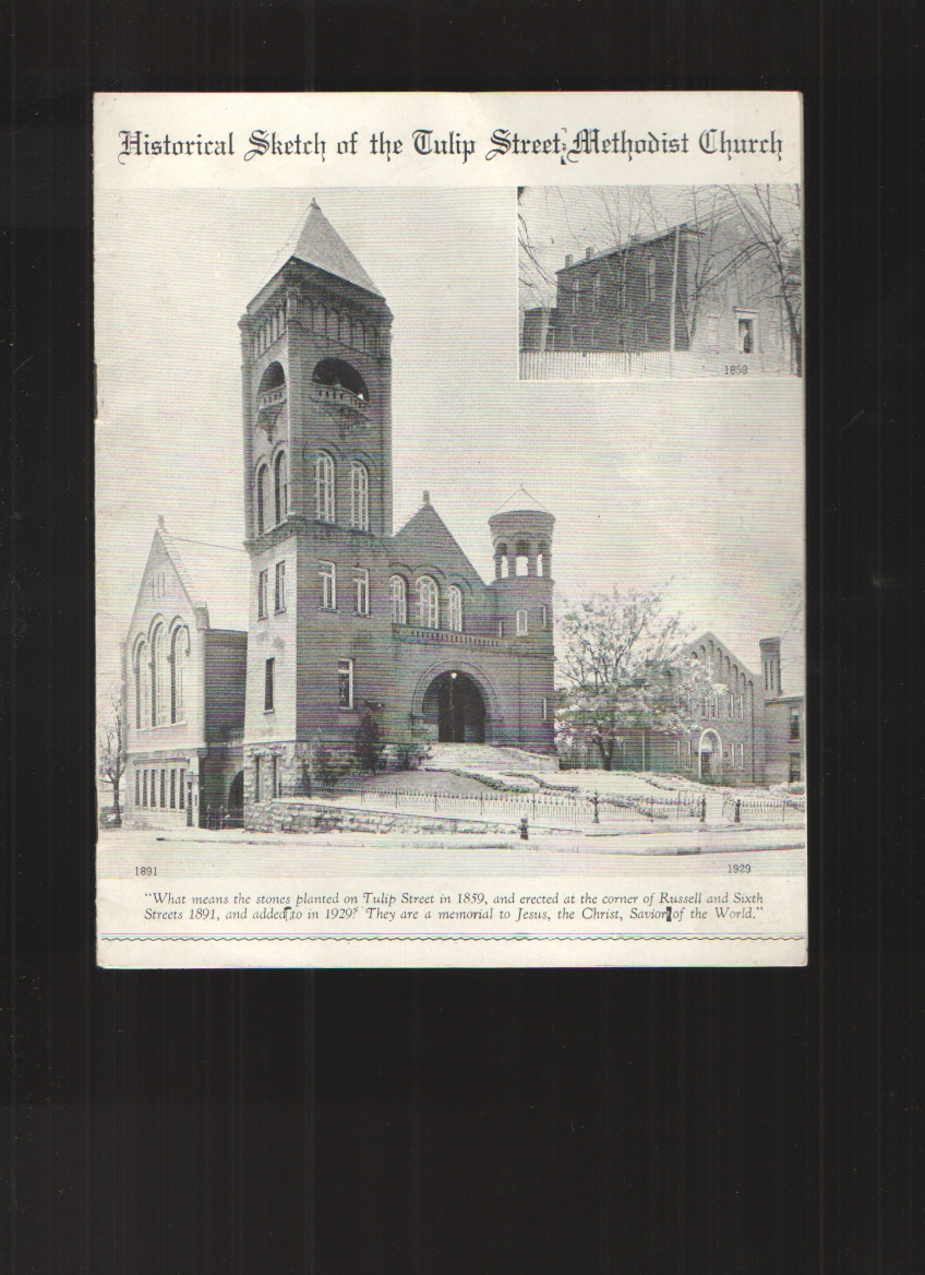 Image for Historical Sketch of the Tulip Street Methodist Church