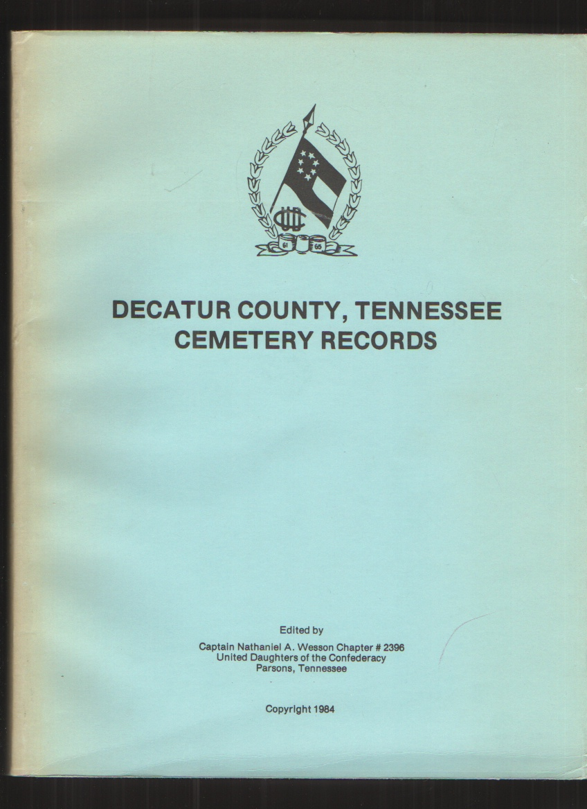 Image for Decatur County, Tennessee Cemetery Records