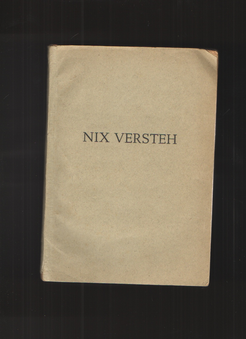 "Image for Nix Versteth The Story of Company ""I"" 304th Infantry Regiment During Their Days in the European Theater of Operations"