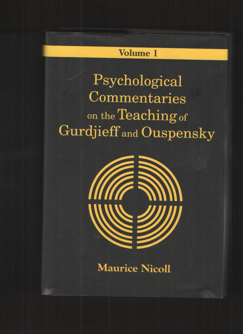Image for Psychological Commentaries on the Teaching of Gurdjieff and Ouspensky