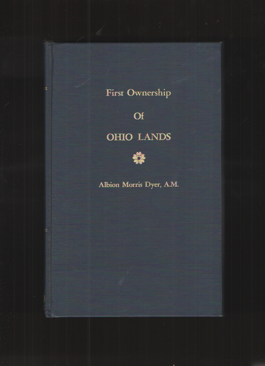 Image for First Ownership of Ohio Lands