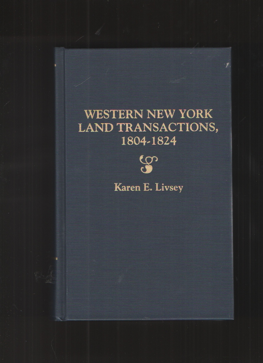 Image for Western New York Land Transactions, 1804-1824