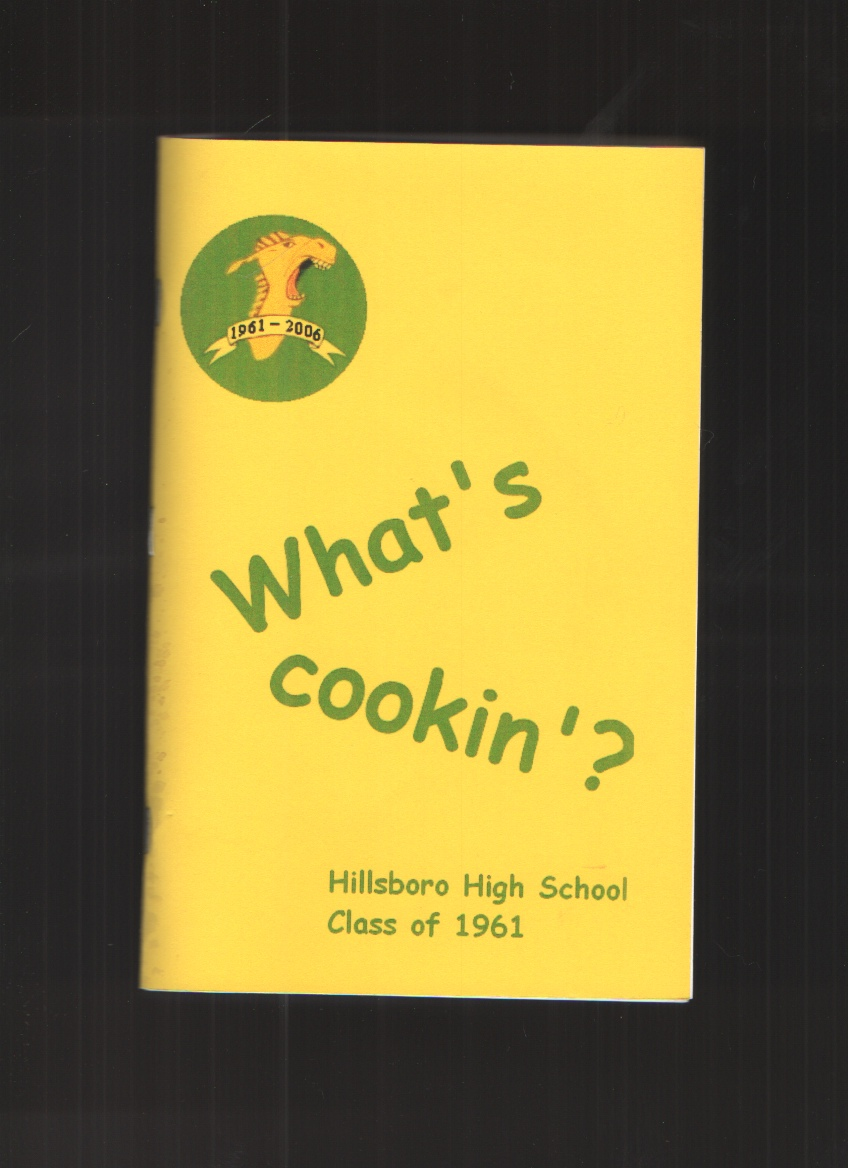 Image for What's Cookin?  Hillsboro High School , Class of 1961