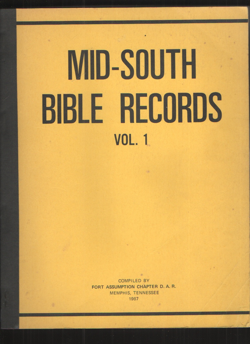 Image for Mid-South Bible Records, Vol. 1