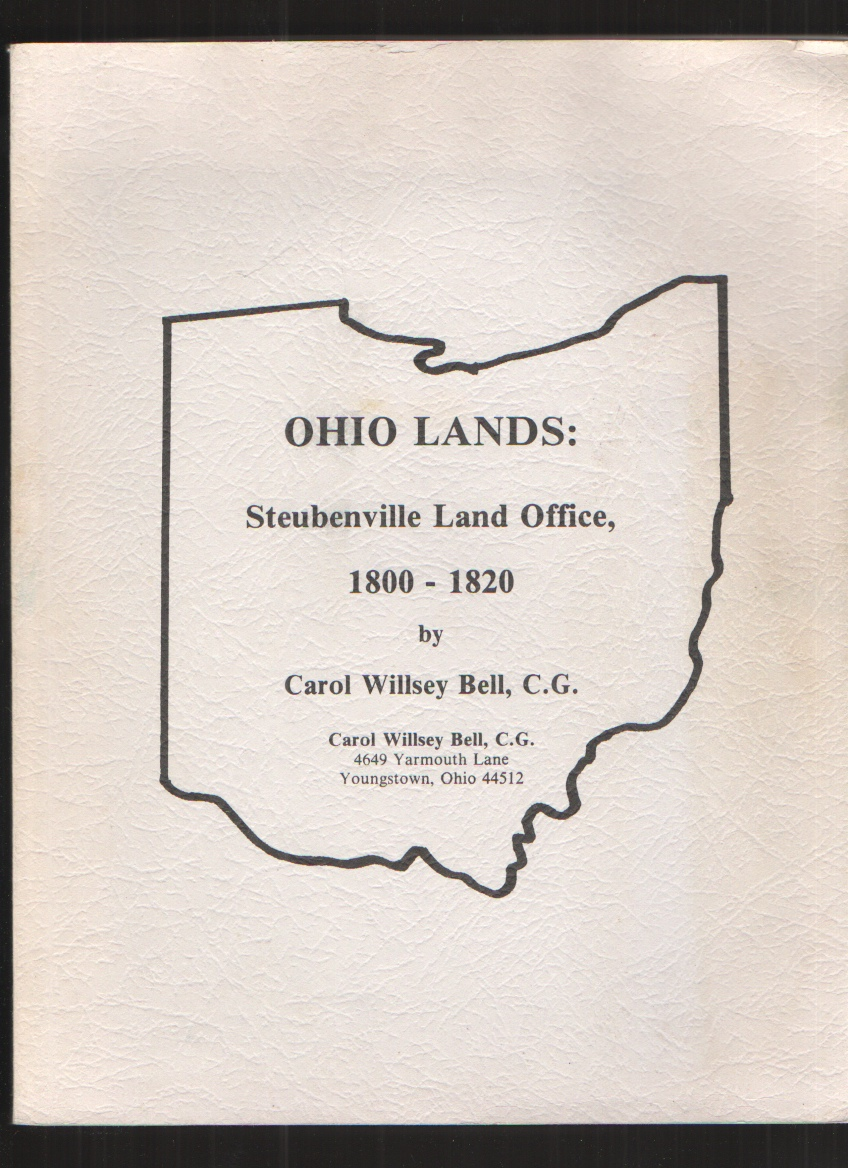 Image for Ohio Lands Steubenville Land Office, 1800-1820